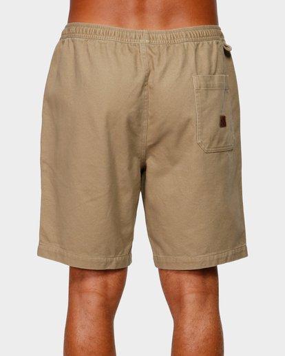4 Larry Layback Twill Shorts Grey 9592733 Billabong