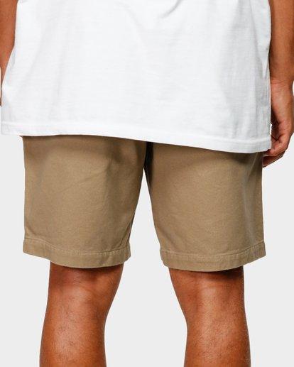 7 Larry Layback Twill Shorts Grey 9592733 Billabong