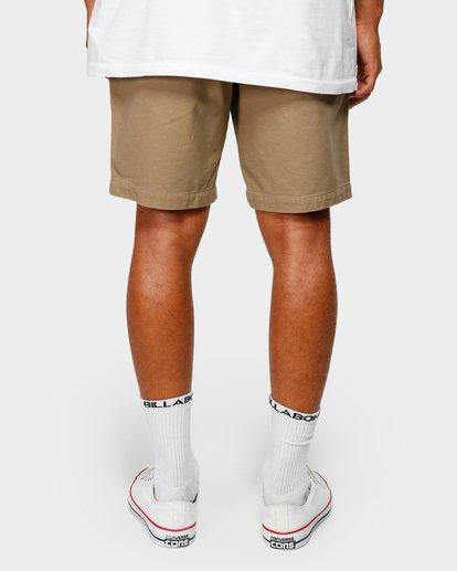 10 Larry Layback Twill Shorts Grey 9592733 Billabong