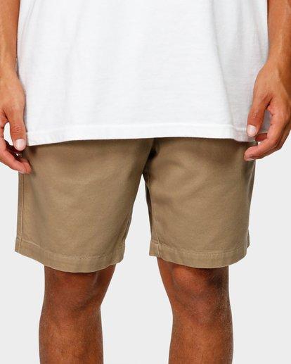 5 Larry Layback Twill Shorts Grey 9592733 Billabong