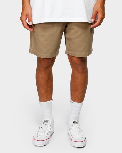 8 Larry Layback Twill Shorts Grey 9592733 Billabong