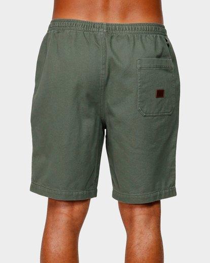4 Larry Layback Twill Shorts Green 9592733 Billabong