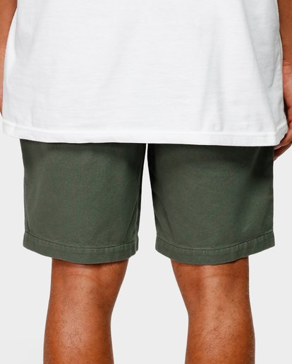 7 Larry Layback Twill Shorts Green 9592733 Billabong