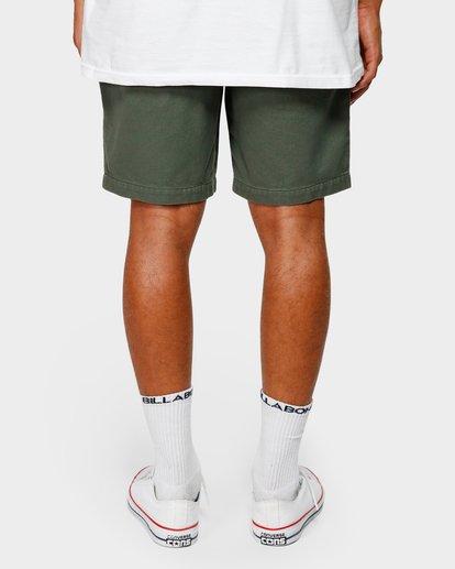 10 Larry Layback Twill Shorts Green 9592733 Billabong