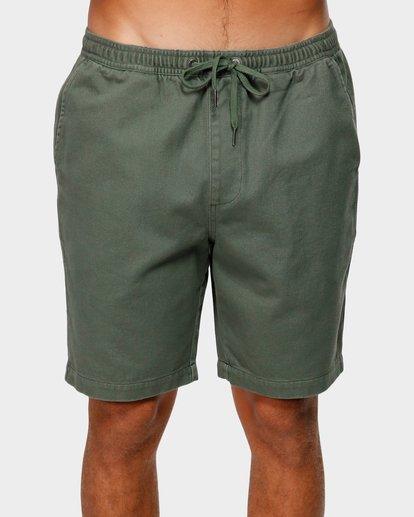 2 Larry Layback Twill Shorts Green 9592733 Billabong