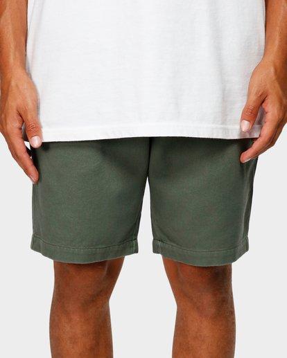 5 Larry Layback Twill Shorts Green 9592733 Billabong