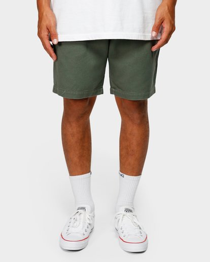 8 Larry Layback Twill Shorts Green 9592733 Billabong