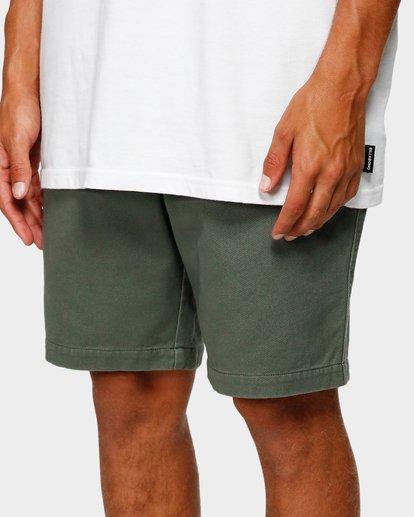 6 Larry Layback Twill Shorts Green 9592733 Billabong