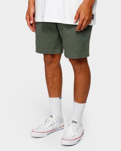 9 Larry Layback Twill Shorts Green 9592733 Billabong