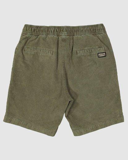 1 Larry Layback Cord Shorts Green 9592736 Billabong