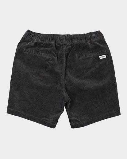 1 Larry Layback Cord Shorts Grey 9592736 Billabong