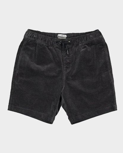 0 Larry Layback Cord Shorts Grey 9592736 Billabong