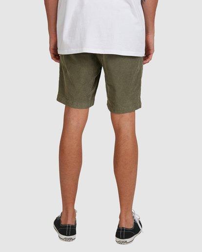 5 Larry Layback Cord Shorts Green 9592736 Billabong