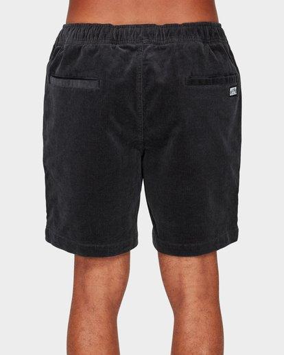 4 Larry Layback Cord Shorts Grey 9592736 Billabong