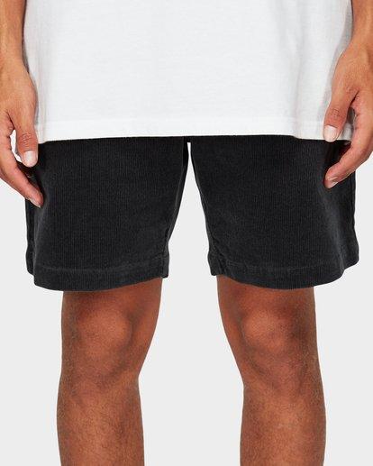 5 Larry Layback Cord Shorts Grey 9592736 Billabong
