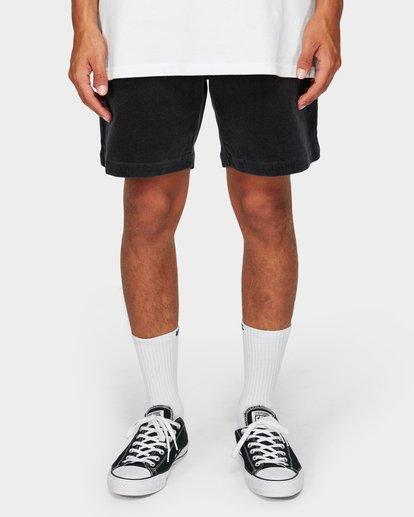 8 Larry Layback Cord Shorts Grey 9592736 Billabong