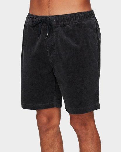 3 Larry Layback Cord Shorts Grey 9592736 Billabong