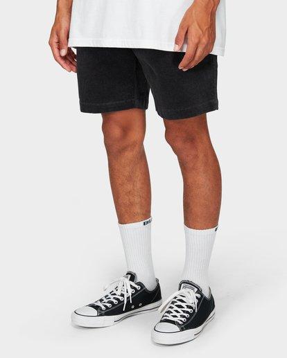 9 Larry Layback Cord Shorts Grey 9592736 Billabong