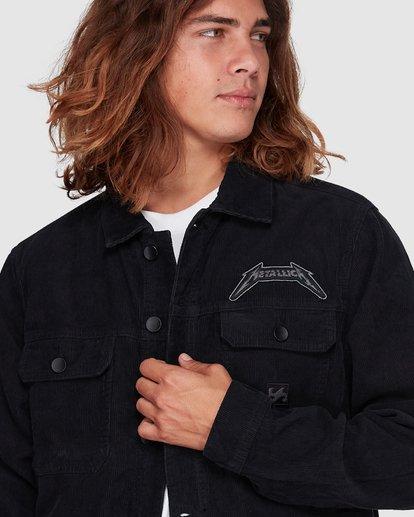 4 Metallica Black Album Jacket Grey 9592901 Billabong