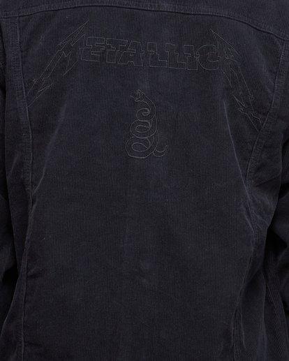 5 Metallica Black Album Jacket Grey 9592901 Billabong