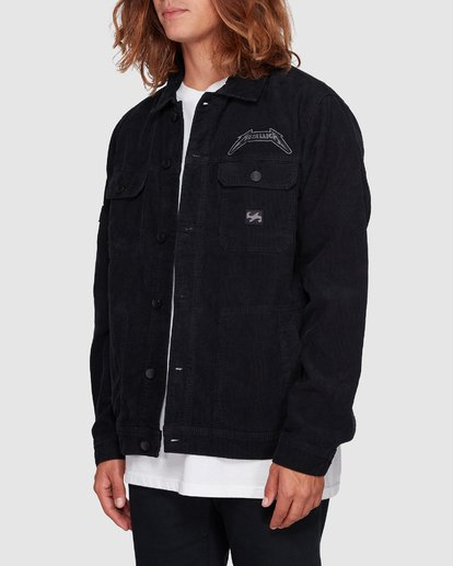 2 Metallica Black Album Jacket Grey 9592901 Billabong