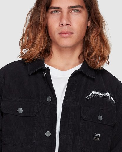 4 Andy Irons Metallica Jacket Black 9592902 Billabong