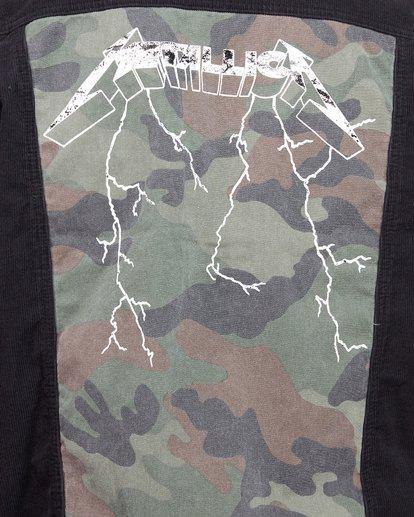 5 Andy Irons Metallica Jacket Black 9592902 Billabong
