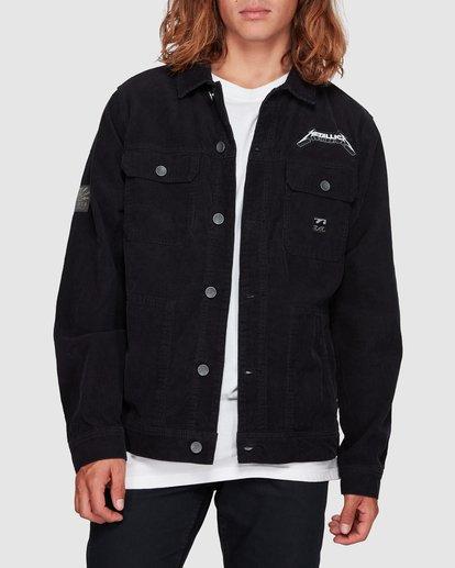 1 Andy Irons Metallica Jacket Black 9592902 Billabong