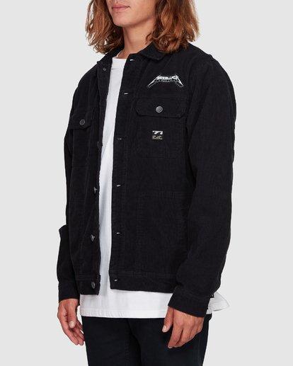 2 Andy Irons Metallica Jacket Black 9592902 Billabong
