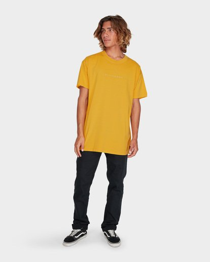 3 WORDSMITH TEE Yellow 9595009 Billabong
