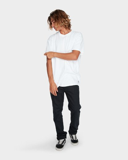 3 WORDSMITH TEE White 9595009 Billabong