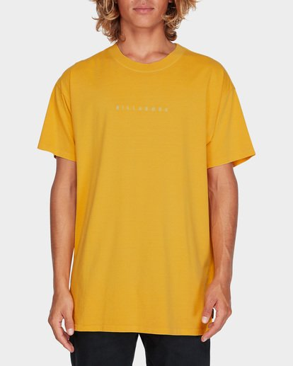 0 WORDSMITH TEE Yellow 9595009 Billabong