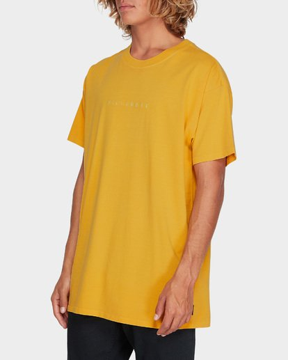 1 WORDSMITH TEE Yellow 9595009 Billabong