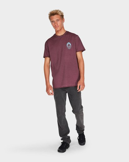 3 SKITTLE BRAU TEE Red 9595010 Billabong
