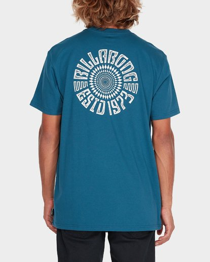 2 SPIRIT WALKER TEE Blue 9595011 Billabong