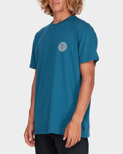 1 SPIRIT WALKER TEE Blue 9595011 Billabong