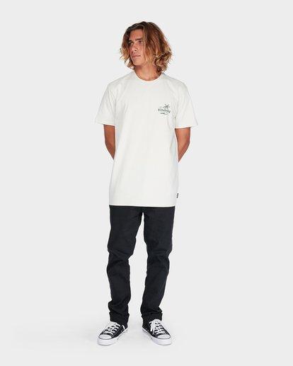 3 SURF CLUB TEE Brown 9595012 Billabong