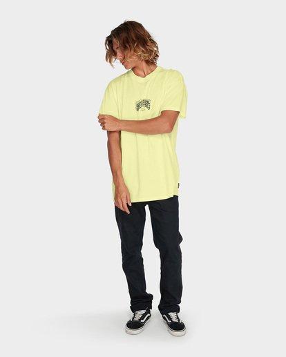 3 ARCH STACK TEE Yellow 9595018 Billabong