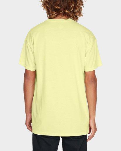 2 ARCH STACK TEE Yellow 9595018 Billabong