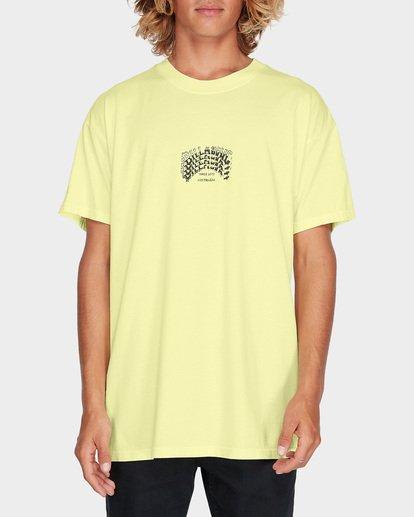 0 ARCH STACK TEE Yellow 9595018 Billabong