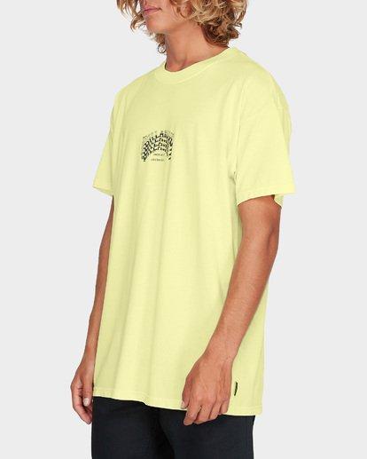 1 ARCH STACK TEE Yellow 9595018 Billabong