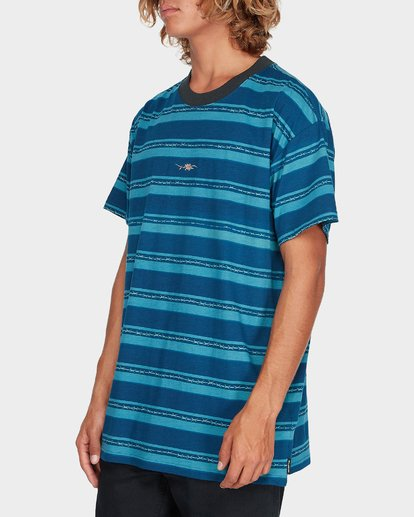 1 PRINTY MIX TEE Blue 9595019 Billabong