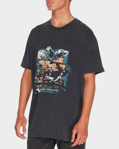 1 HERE COMES FUN TEE Black 9595020 Billabong