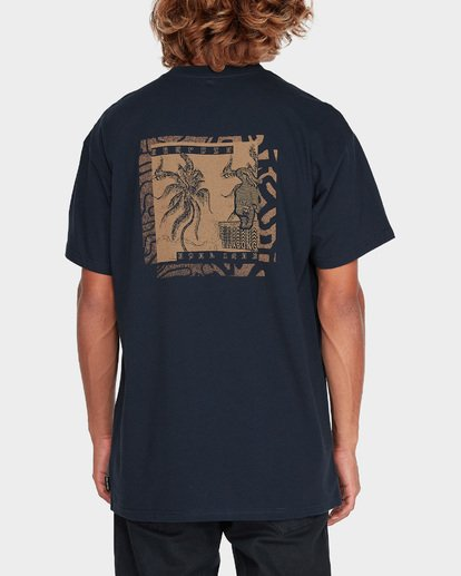 2 TIGER DANCER TEE Blue 9595022 Billabong