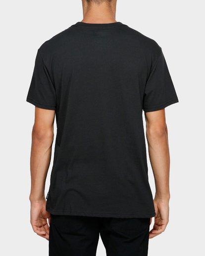 3 ANDY IRONS STENCIL TEE Black 9595057 Billabong