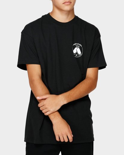 0 ONYAPARKO TEE Black 9595085M Billabong