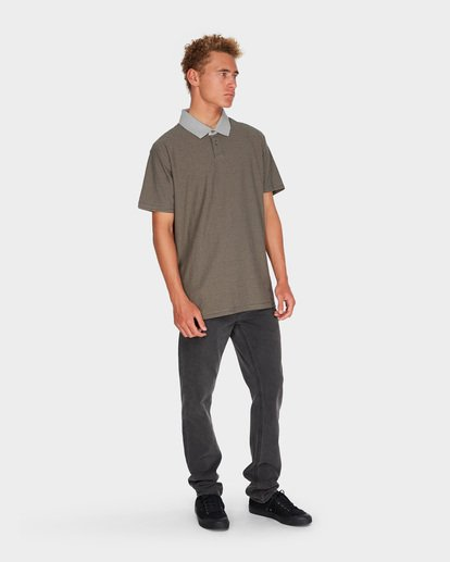 3 DELTA POLO Grey 9595141 Billabong