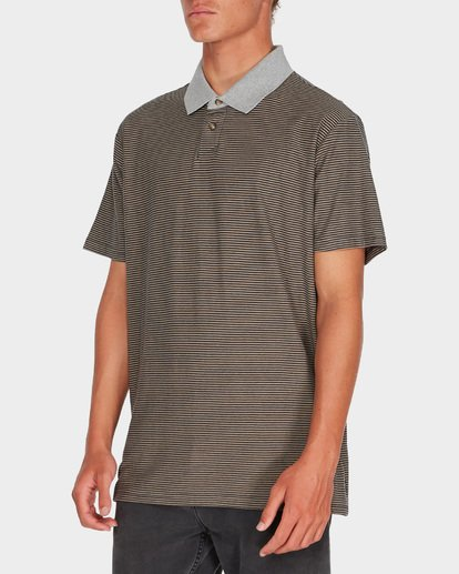 1 DELTA POLO Grey 9595141 Billabong