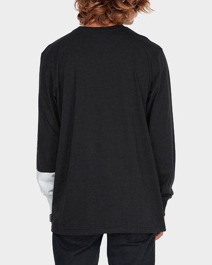 2 SPLIT SALAD LONG SLEEVE TEE Black 9595171 Billabong