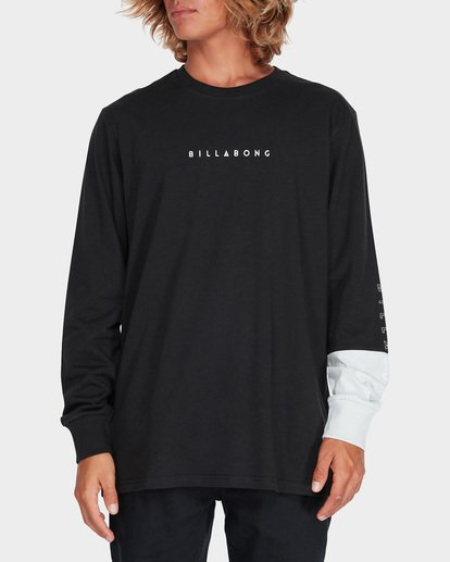 0 SPLIT SALAD LONG SLEEVE TEE Black 9595171 Billabong